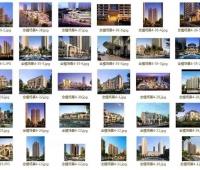 一键渲染68个建筑集合全部附带全模场景