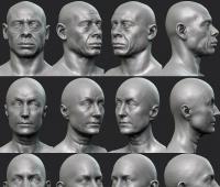 索尼圣莫尼卡工作室艺术总监Raf Grassetti 3D建模作品