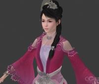 古代迷人美女3d模型 喜欢的抱走吧!