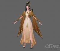 美女3D模型下载 3D模型 游戏资源