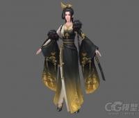 庄主夫人3D模型