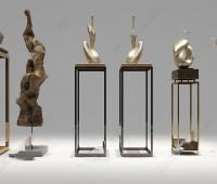 室内设计系列 艺术品 现代中式底座雕塑品 喜欢就下载吧