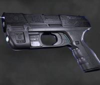 次时代游戏科幻能量枪模型