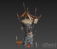 3D游戏场景模型