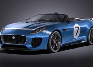 赛车天地 Jaguar Project 7 Concept 2016